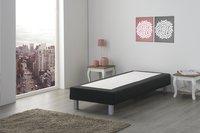 Vaste boxspring Medina meubelstof zwart-Afbeelding 2