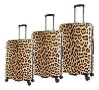 Saxoline set de 3 valises rigides Leopard-Avant