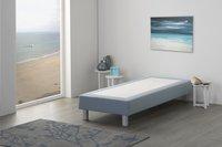 Vaste boxspring Medina meubelstof mint 80 x 200 cm-Afbeelding 1