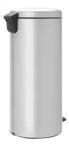 Brabantia Poubelle à pédale NewIcon metallic grey 30 l-Arrière
