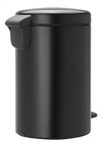 Brabantia Pedaalemmer newIcon matt black 12 l-Achteraanzicht