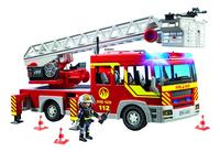 PLAYMOBIL City Action 5362 Brandweer ladderwagen met licht en sirene-Vooraanzicht