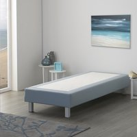 Vaste boxspring Medina meubelstof mint 80 x 200 cm-Afbeelding 3