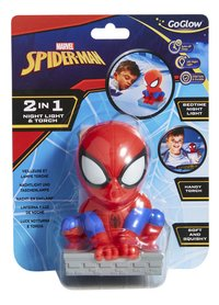 GoGlow Buddy veilleuse/lampe de poche Spider-Man-Avant