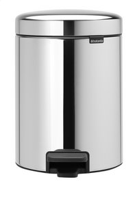 Brabantia Pedaalemmer newIcon Brilliant Steel 5 l