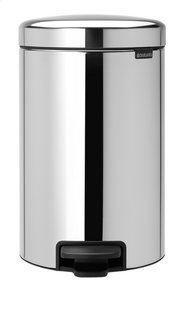 Brabantia Pedaalemmer NewIcon Brilliant Steel 12 l