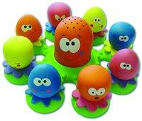 Tomy badspeeltje Octopusfamilie-Artikeldetail