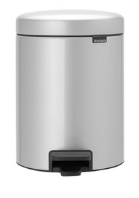 Brabantia Pedaalemmer NewIcon metallic grey 5 l