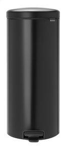 Brabantia Poubelle à pédale NewIcon matt black 30 l