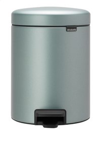Brabantia Pedaalemmer NewIcon metallic mint 5 l
