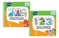 VTech MagiBook Cijfers ontdekken + Ga op avontuur met vormen & kleuren-Vooraanzicht
