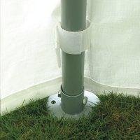 Tente de réception robuste en polyéthylène 3 x 6 m-Détail de l'article