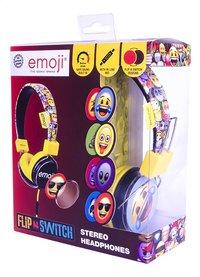 Emoji casque Flip & Switch noir/jaune-Côté droit