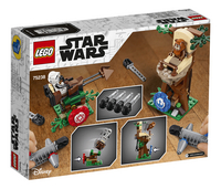 LEGO Star Wars 75238 Action Battle aanval op Endor-Achteraanzicht