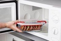 Pyrex Plat à four/boîte de conservation rectangulaire Cook & Heat L 17 x Lg 10 cm-Image 1