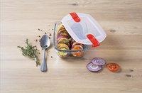 Pyrex Plat à four/boîte de conservation rectangulaire Cook & Heat L 17 x Lg 10 cm-Image 2