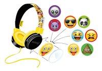 Emoji casque Flip & Switch noir/jaune-Avant