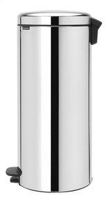 Brabantia Poubelle à pédale newIcon brilliant steel 30 l-Côté droit