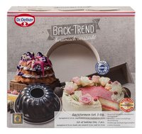 Dr. Oetker Set de 3 moules à pâtisserie Back-Trend-Avant