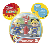 Figurine La Maison de Mickey Mickey & Donald to the rescue