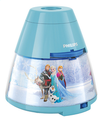 Philips nachtlampje/projector Disney Frozen-commercieel beeld
