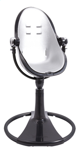 Bloom Chaise haute Fresco Chrome black frame lunar silver-Détail de l'article