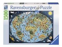 Ravensburger puzzel Bontgekleurde aarde-Vooraanzicht
