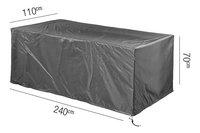 AeroCover housse pour table de jardin polyester L 240 x Lg 110 x H 70 cm-Détail de l'article