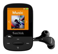 SanDisk mp3-speler Sansa Clip Sport 8 GB zwart-Artikeldetail