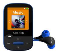SanDisk mp3-speler Sansa Clip Sport 8 GB blauw-Artikeldetail