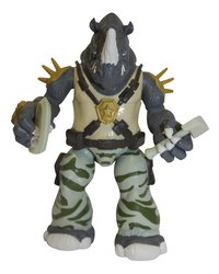 Figurine articulée Les Tortues Ninja Mutations Mix N'Match Rocksteady