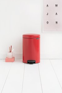 Brabantia Pedaalemmer newIcon passion red 12 l-Afbeelding 1