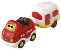VTech Tut Tut Bolides Timothée, super cabriolet et sa caravane FR