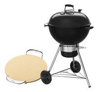 Weber Barbecue au charbon de bois set Master-Touch GBS E-5750 noir + pierre à pizza-Détail de l'article