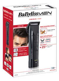 BaByliss for men Tondeuse E751E-Avant