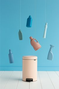 Brabantia Pedaalemmer NewIcon Clay Pink 12 l-Afbeelding 1