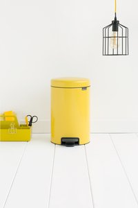 Brabantia Pedaalemmer newIcon Daisy Yellow 12 l-Afbeelding 1