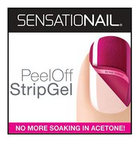 SensatioNail Vernis gel PeelOff StripGel base coat transparent-Détail de l'article