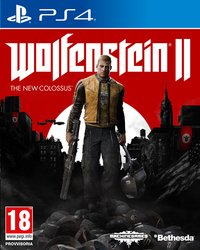 PS4 Wolfenstein II: The New Colossus ENG/FR