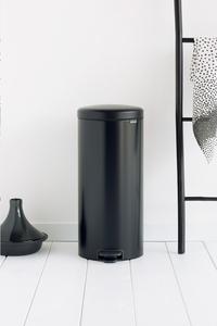 Brabantia Poubelle à pédale newIcon matt black 30 l-Image 1