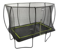 EXIT trampolineset Silhouette zwart L 3,66 x B 2,44 m-Bovenaanzicht