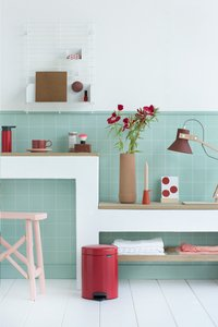 Brabantia Pedaalemmer newIcon passion red 5 l-Afbeelding 2