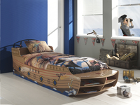 Bed Piratenboot Jacky-Afbeelding 1