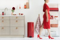 Brabantia Pedaalemmer NewIcon passion red 30 l-Afbeelding 2