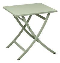 Ocean Table pliante Shiko vert L 70 x Lg 70 cm-Avant