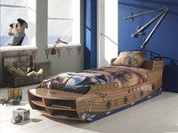 Bed Piratenboot Jacky-Afbeelding 2