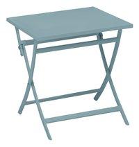 Ocean Table pliante Shiko bleu L 70 x Lg 70 cm