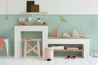 Brabantia Poubelle à pédale NewIcon clay pink 5 l-Image 2