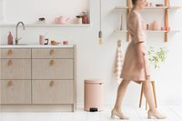 Brabantia Pedaalemmer NewIcon Clay Pink 20 l-Afbeelding 2