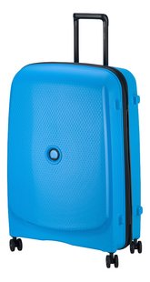 Delsey valise rigide Belmont Plus bleu 76 cm-Côté droit